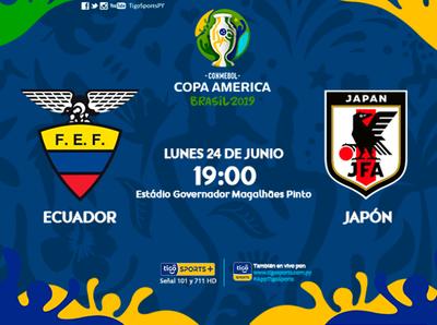 Paraguay, pendiente de Ecuador vs Japón
