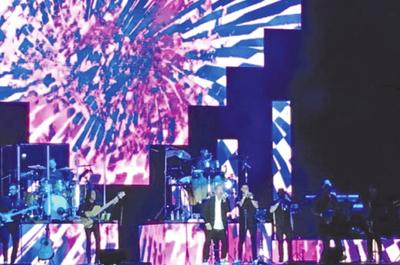 Montaner: emoción y carisma en  escenario