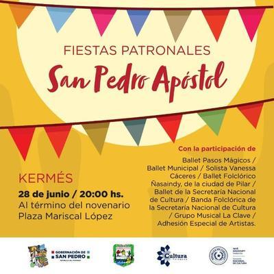 SNC acompaña festividad popular en San Pedro del Ycuamandiyú