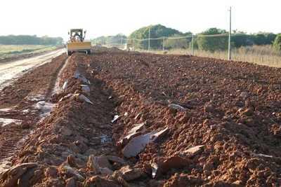 A fines de julio se tendrían los primeros kilómetros de pavimento del Bioceánico
