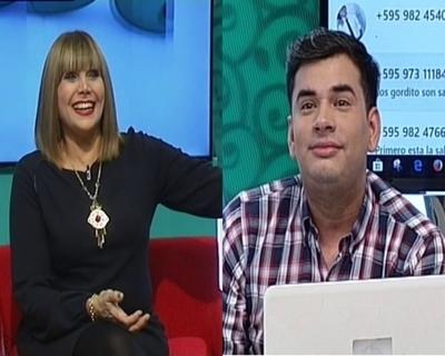 Televidente y una broma vía mensaje al panelista de Pelusa