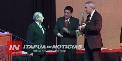 PRESENTAN GALARDONADOS DE LOS PREMIOS YVY MARANE'Y 2019.