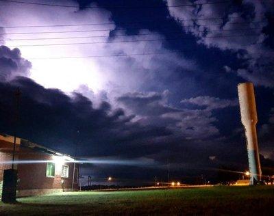 Frente frío llegará con tormentas eléctricas