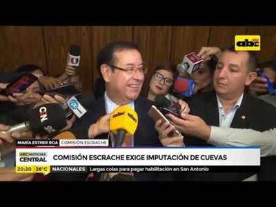 Comisión escrache exige imputación de Cuevas