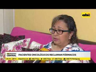 Pacientes oncológicos reclaman fármacos