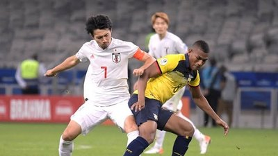 Milagro: Ecuador y Japón empataron y Paraguay clasificó