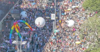 Fuertes manifestaciones contra presi de Brasil