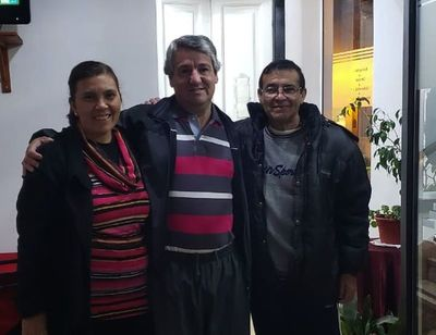 Peregrinos paraguayos sintieron la presencia de la Virgen en Salta