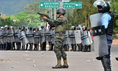 Honduras; Militares entraron a una universidad y dispararon a estudiantes