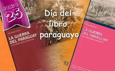 HOY SE CELEBRA EL DÍA DEL LIBRO PARAGUAYO