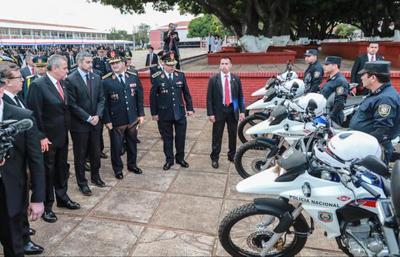 Gobierno invierte en nuevos equipamientos e infraestructuras para la  seguridad ciudadana