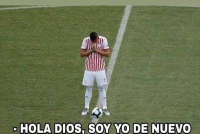 La clasificación Paraguay y los memes del 'milagro'