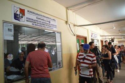 Horarios especiales para renovación de registros en Municipalidad de Fernando