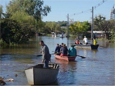 El río Paraguay bajará a 5,20 metros a mediados de julio