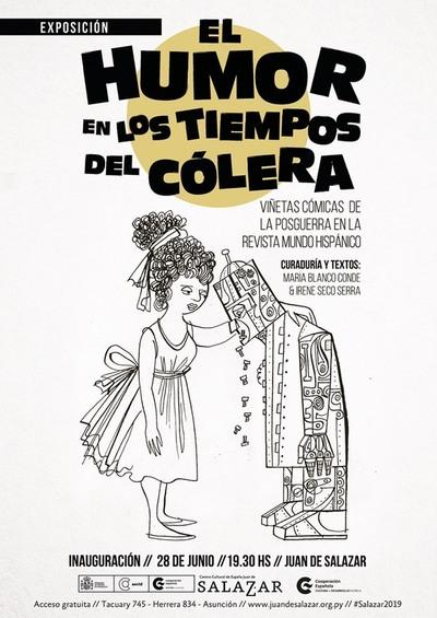 Viñetas cómicas de la posguerra española en exposición