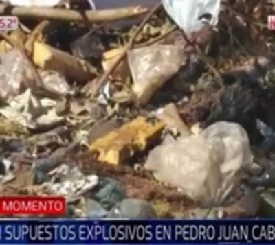 Detectan aparente explosivo cerca de la cárcel de Pedro Juan Caballero