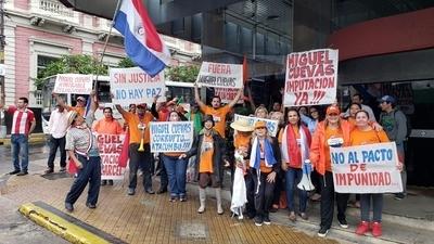 """Escrachadores de Asunción hablan de """"escrachadores de Ciudad del Este"""""""