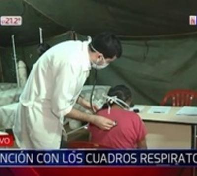 Habilitan espacios para pacientes con enfermedades respiratorias