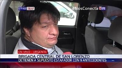 """Cae """"megaestafador"""" en Ñemby"""