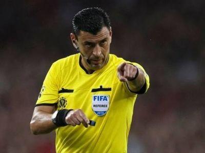 El chileno Roberto Tobar es el juez del juego Paraguay vs Brasil