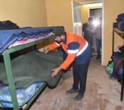 Habilitan refugios para personas en condición de calle