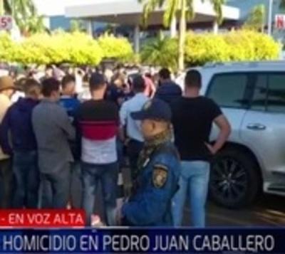 Asesinan a balazos a expolicía en Pedro Juan Caballero