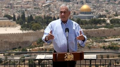 Piñera celebra en Jerusalén «larga historia de amistad» entre Chile e Israel