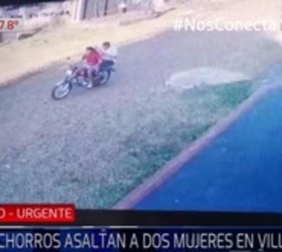 Lanzan contra el empedrado a madre e hija para robar un celular
