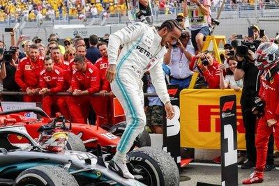 Hamilton y Mercedes, indiscutibles