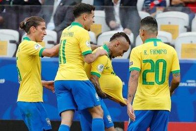Brasil, 13 partidos sin derrotas