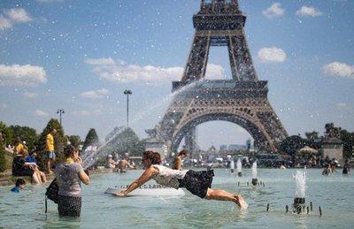 Ola de calor recorre Europa