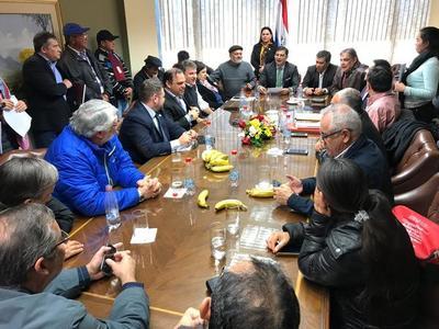 Confirman reunión entre dirigentes del CNI y autoridades del BNF