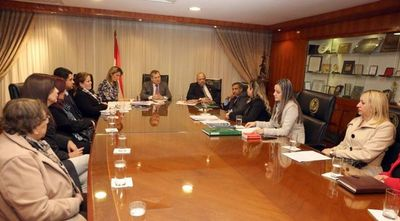 Reunión de ministros de la Corte con jueces de ejecución