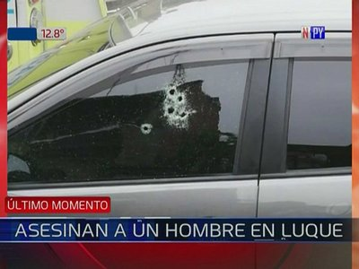 Un hombre es asesinado a balazos en Luque