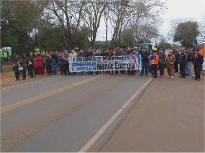 Caaguazú: Se movilizan para presionar por el proyecto Ñane Energía
