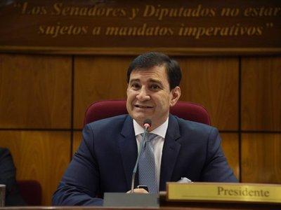 Silvio Ovelar se despide de la presidencia del Congreso