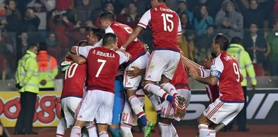 TBT: Paraguay recuerda clasificación a semifinales tras eliminar a Brasil en Chile 2015