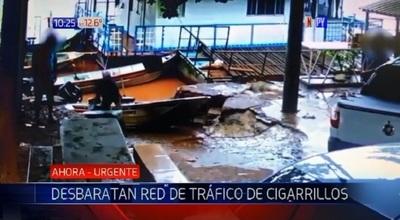Desmantelan grupo que traficaba cigarrillos paraguayos al Brasil