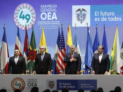 Uruguay se retira de sesión de OEA en rechazo a delegados de Guaidó