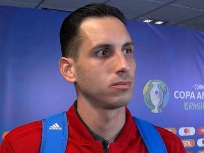 Gatito desea que el partido contra Brasil marque el camino de la Albirroja