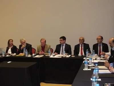 Autoridades se reunen para tratar revitalización del CHA en Palmaroga Hotel » Ñanduti