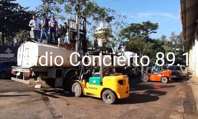 Cae camión cisterna cargado con droga que iba rumbo a Brasil