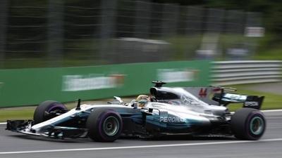 HOY / F1: Hamilton dominó el primer libre en Austria