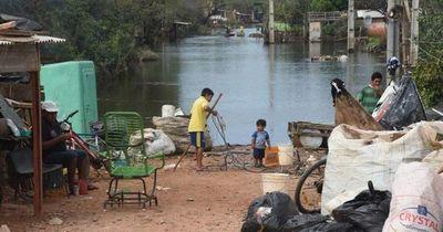 En un mes, el río Paraguay descendió un metro y medio
