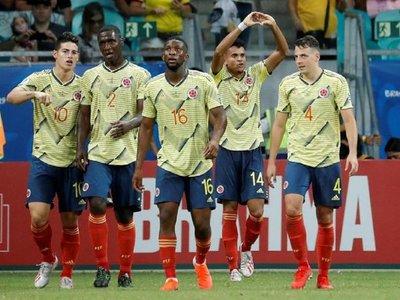 Chile amenaza el camino inmaculado de Colombia en la Copa América