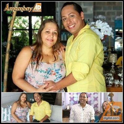 Tiene 45 años y está embarazada de sus nietos: su hijo gay será padre de gemelos