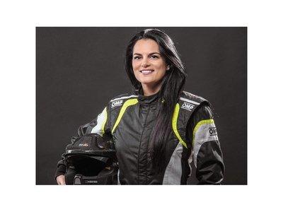 Andrea Lafarja, campeona sobre ruedas