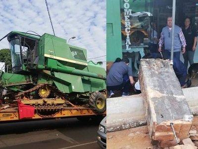 San Ignacio: Accidente deja gravemente herida a una mujer