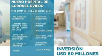 Anuncian construcción de hospital de alta complejidad en Cnel. Oviedo