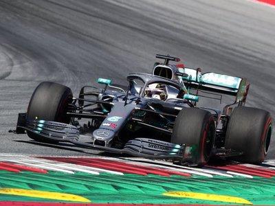 Hamilton lidera en la matinal de Spielberg; Leclerc, el mejor por la tarde